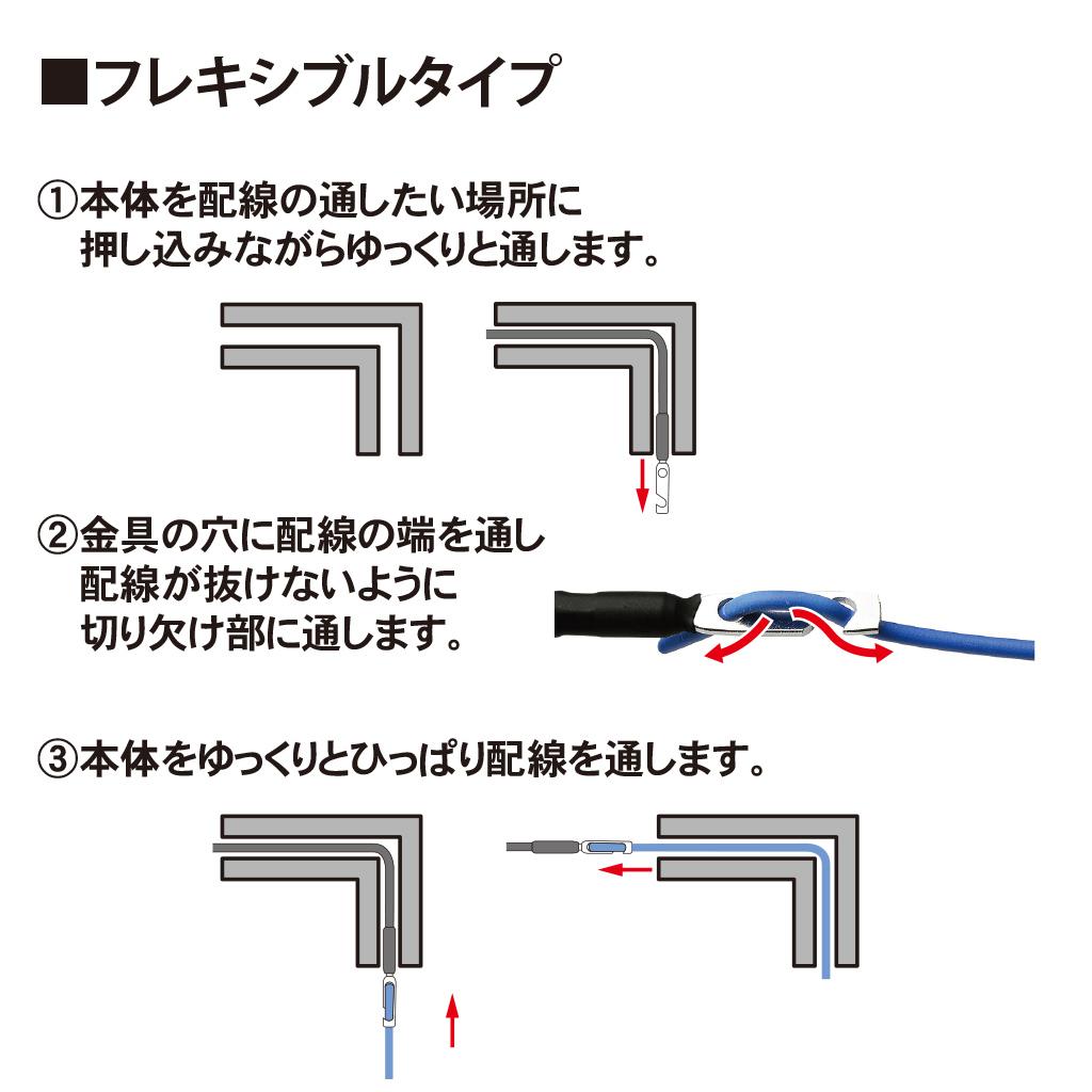 配線ガイドキット 5ピース(19-459_3)の画像