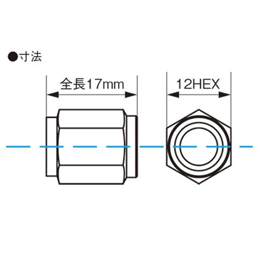 KYO-EI(協永産業) レデューラレーシング・バルブキャップ ブルー(エアバルブキャップ)4ピース CKIVU(30-2111_1)の画像